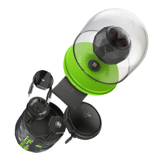 360-градусная камера 360fly 4k