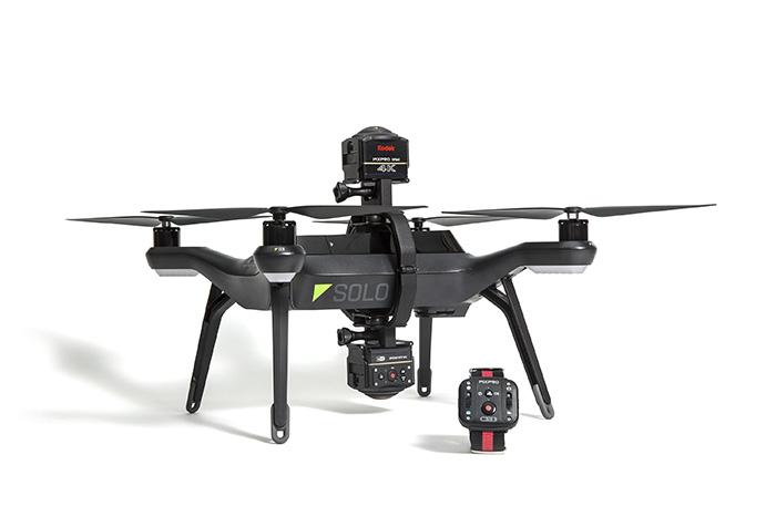 Kodak SP360 4k Aerial Pack и 3DR Solo для панорамной аэросъемки