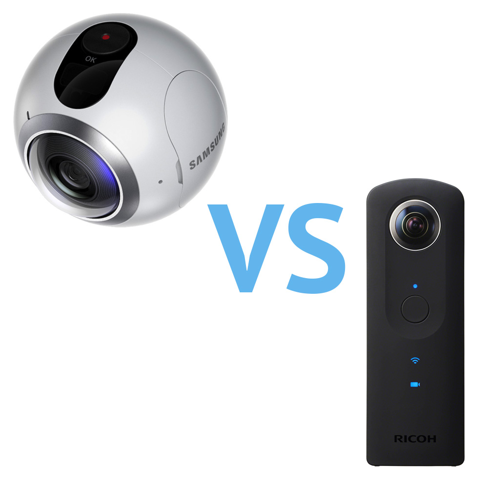 Gear 360 vs Ricoh Theta S