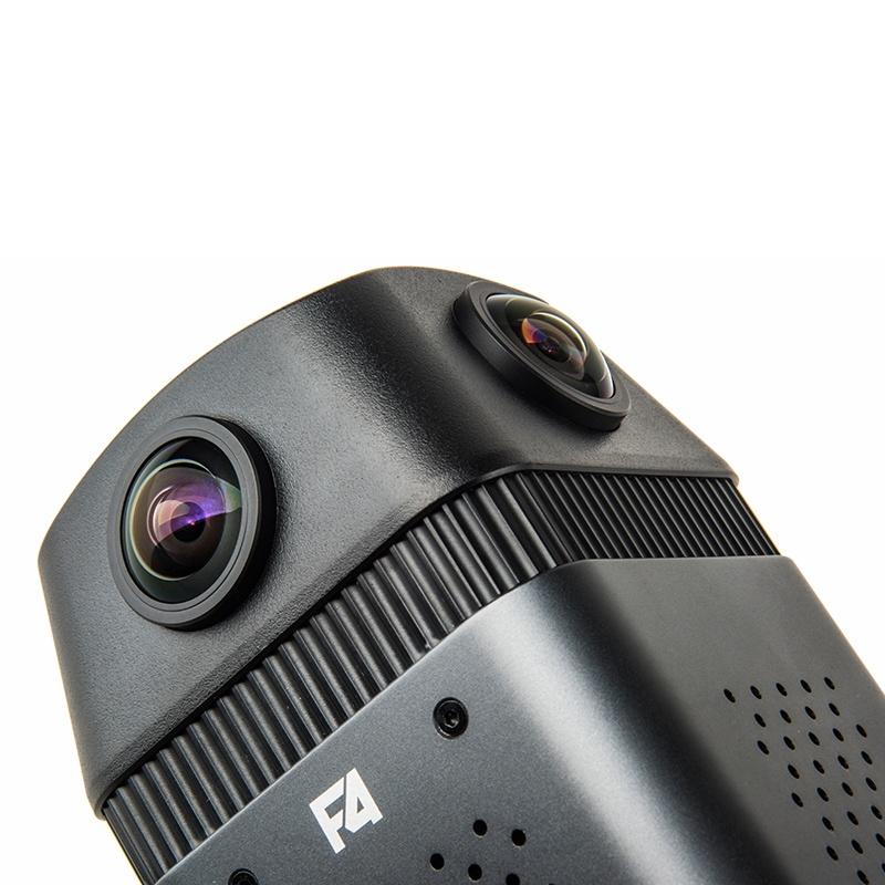 Камера Detu F4для стрима видео 360 в сеть