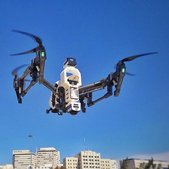 Камера 360 для дронов DJI Mavic Pro и DJI Inspire 1