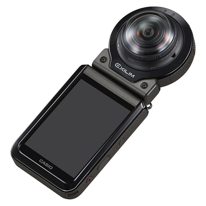 360-градусная камера Casio EX-FR200 для съемки панрамных фото и видео