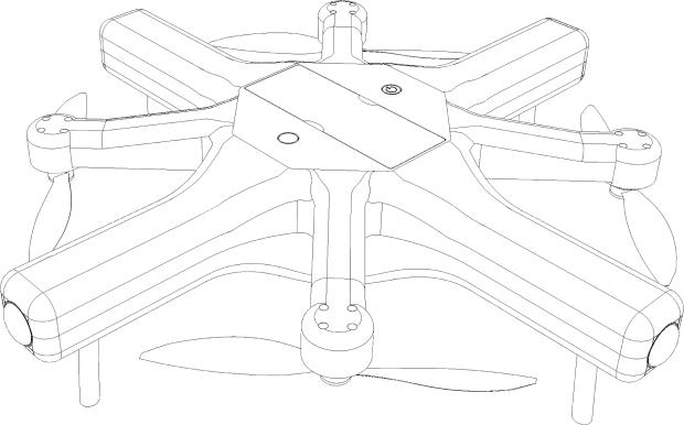 Квадрокоптер Exo360 с камерами 360 градусов