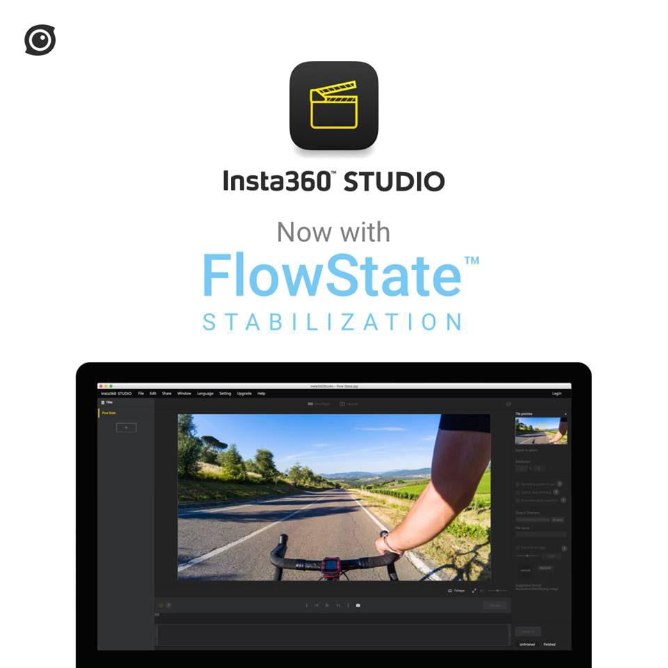 Insta360 внедряет систему стабилизация FlowState