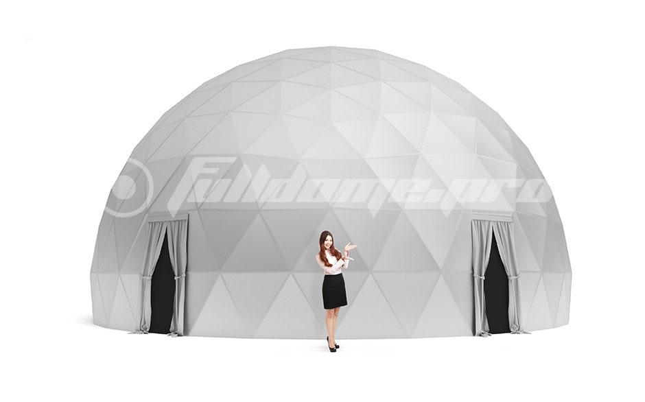 Купольный проектор Fulldome с обзором на 360 градусов: кинотеатр будущего