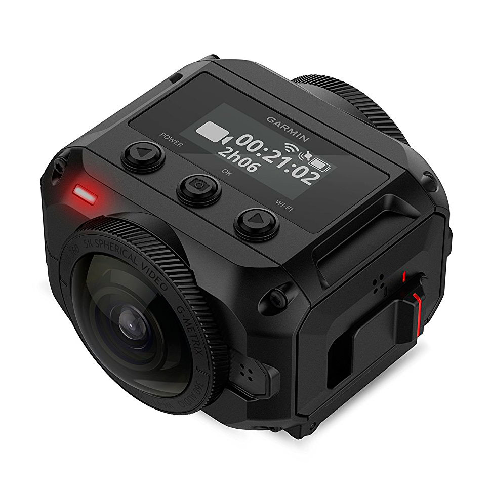 Garmin VIBE 360 для стрима 360 градусов