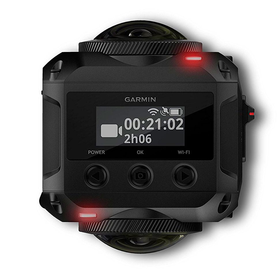 Экшн-камера Garmin VIBE 360 для стрима 360 градусов