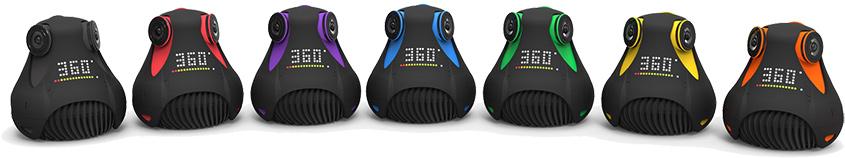 7 цветовых решений камеры Giroptic 360cam