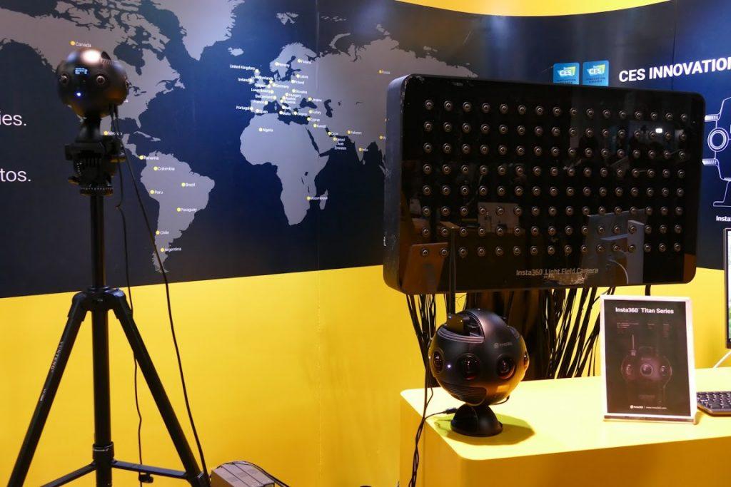 Insta360 Titan и камера светового поля: новинки от Insta360 на CES 2018