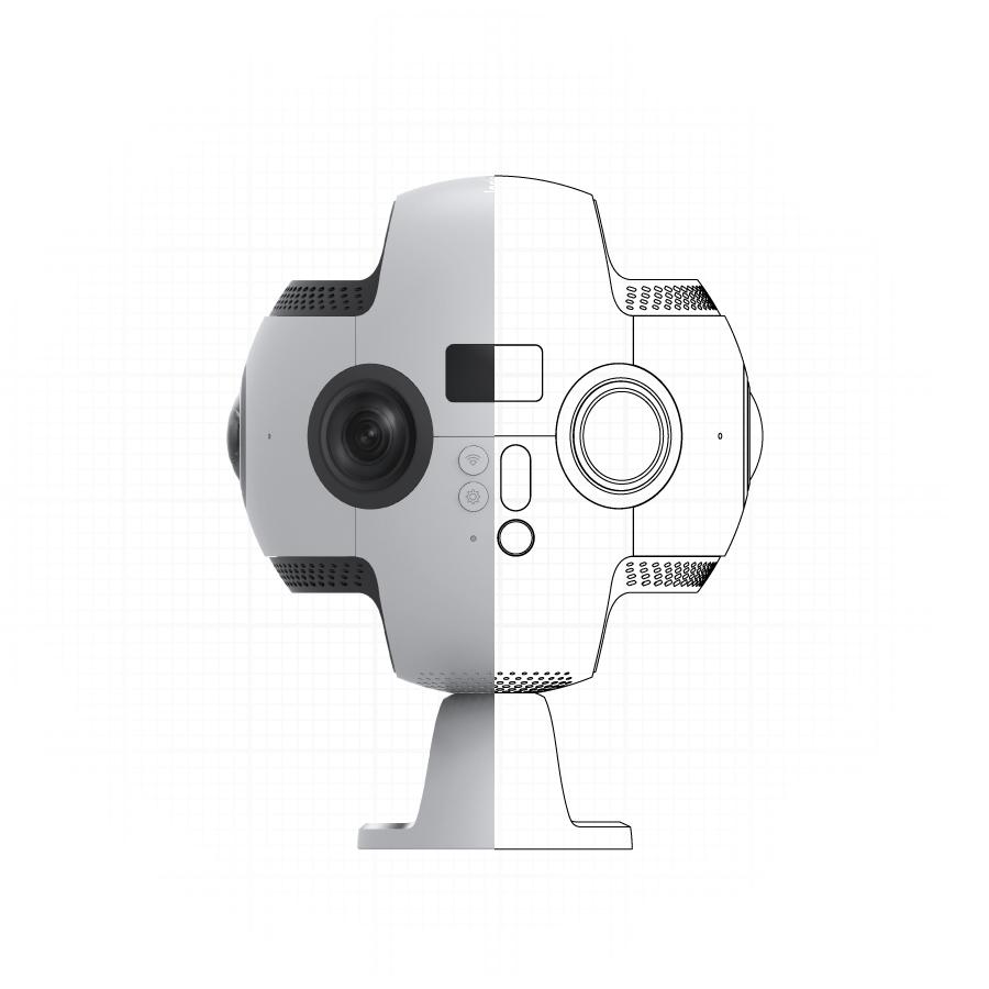 Профессиональная камера 360 градусов Insta360 Pro