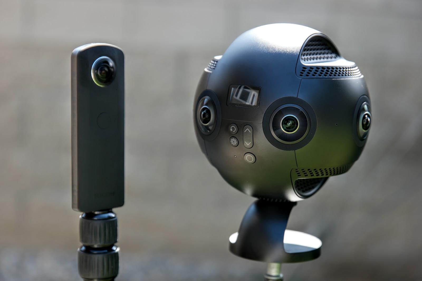 Видео Insta360 Pro против фото Ricoh Theta S