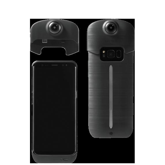 ION360 360-градусная камера-чехол для Samsung Galaxy S8