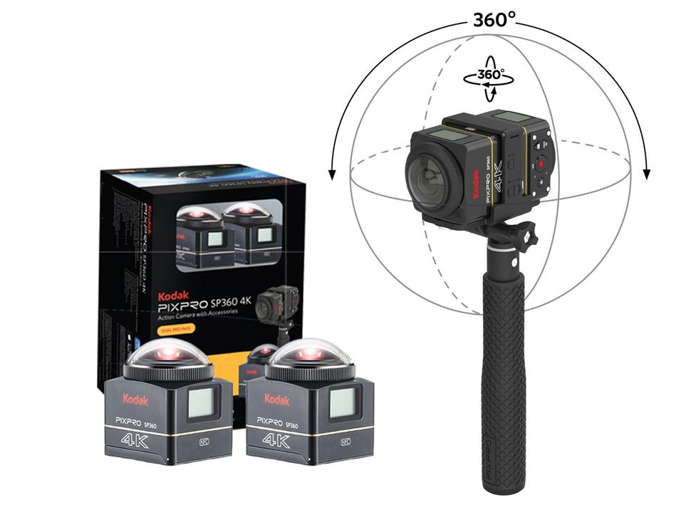 """Kodak SP360 добавит возможность """"сшивать"""" фотографии"""