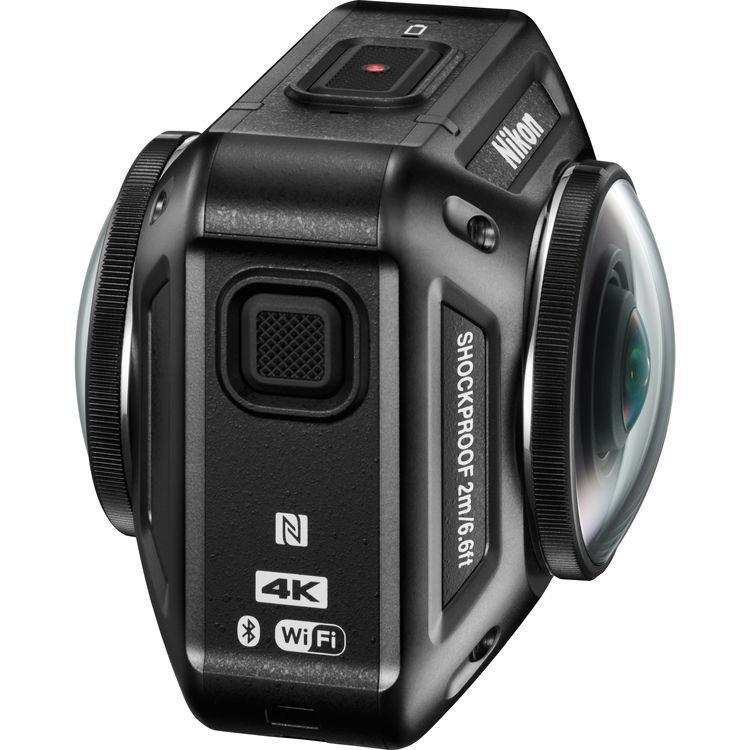 360-градусная камера 4k Nikon KeyMission 360