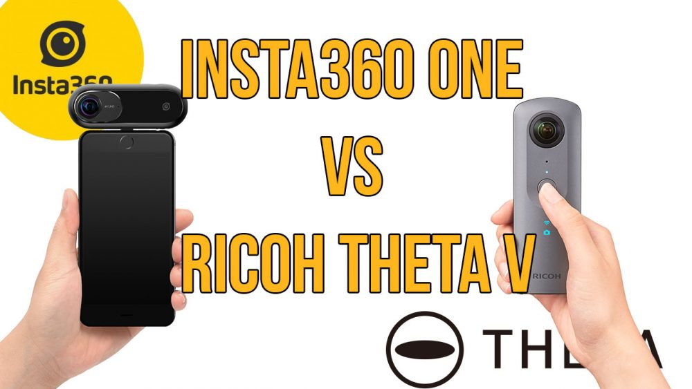 Insta360 ONE против Ricoh Theta V: бескомпромиссная битва новинок