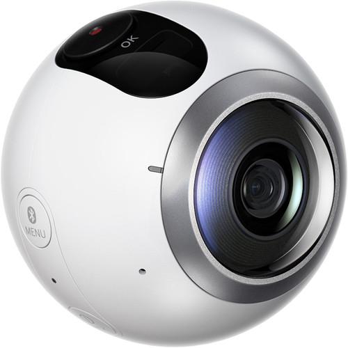 Камера для виртуальной реальности Samsung Gear 360