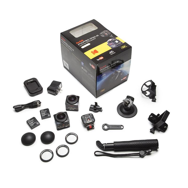 360-градусная камера для виртуальной реальности Kodak SP360 4K Dual Pack