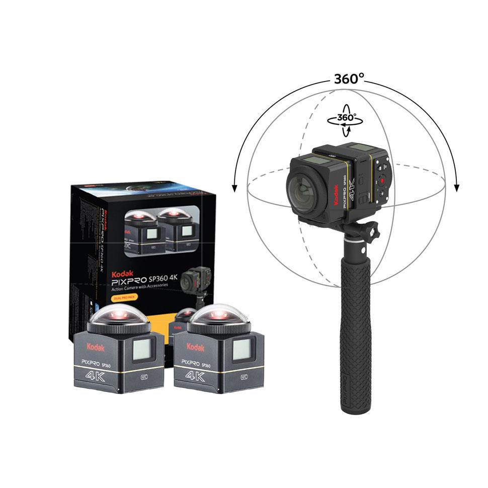 Сферическая камера Kodak SP360 4K Dual Pack