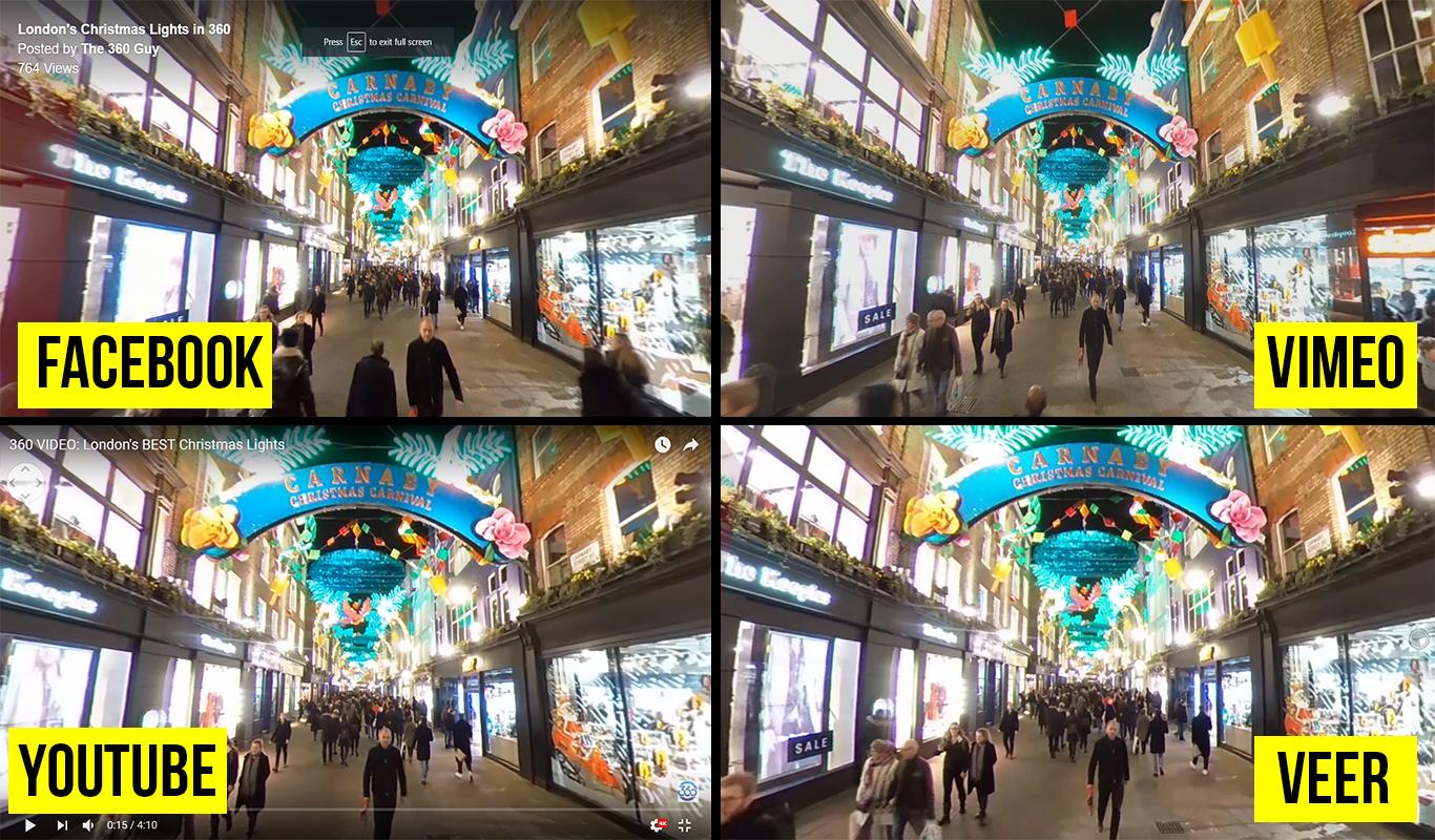 Лучшие площадки для загрузки 360-градусных видео в 2018 году