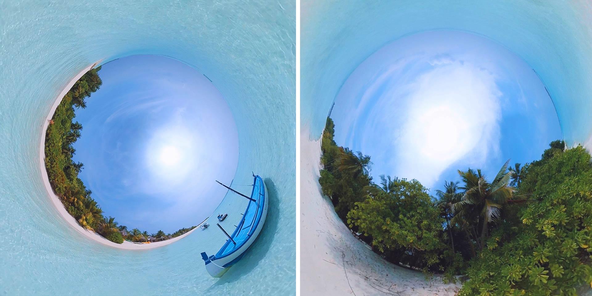 Съемка интересных 360-градусных фото без штативов и других устройств