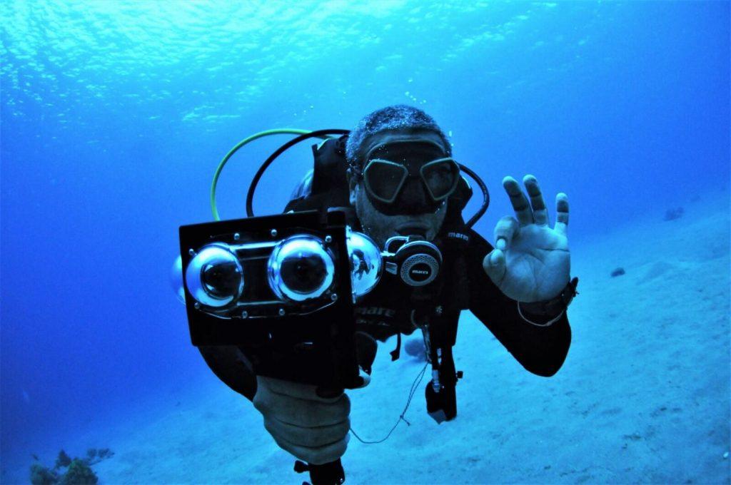 Водонепроницаемый бокс для 360-градусной камеры Vuze