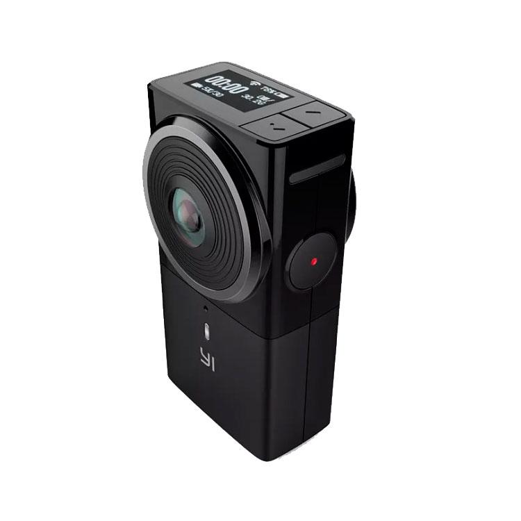 Черная Yi 360 VR для стрима в 360 градусов