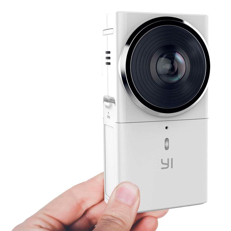Панорамная камера Yi 360 VR белая